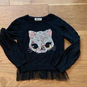 Flip Sequin Sweater 4-6 H&M